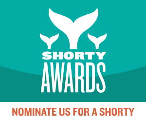 Nominate Sweetbearies for a social media award in the Shorty Awards!