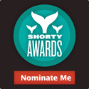 Nominate Lynn Hasselberger for a social media award in the Shorty Awards!