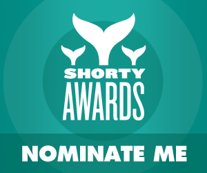 Nominate Kristen Daukas for a social media award in the Shorty Awards!