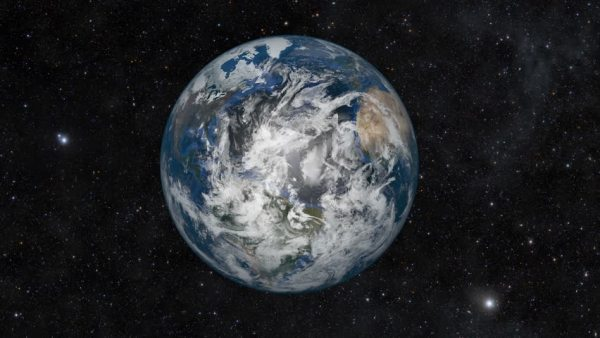 Beginning With A Spinning Earth In Space Then Zooming Out