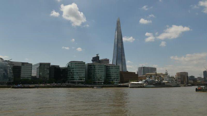 London United Kingdom June   Tower Bridge Is A Bascule Bridge