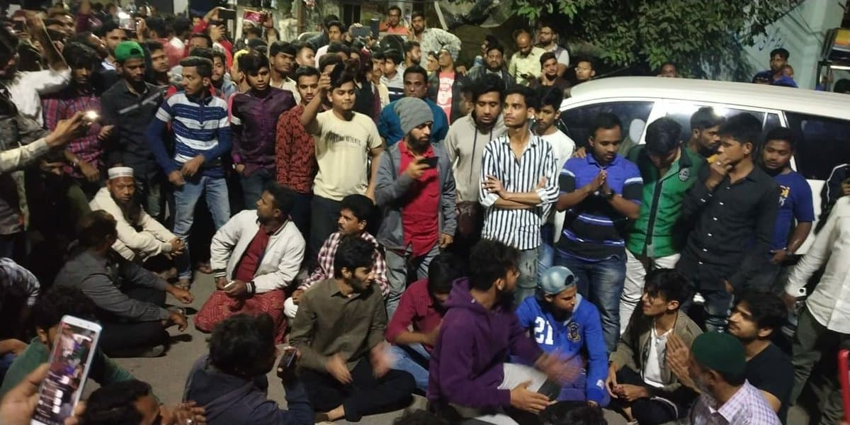 Hyderabad Police disrupts Shaheen Bagh-like protest