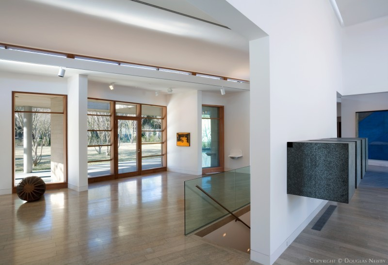 Architect Bill Booziotis Designed Home in Preston Hollow