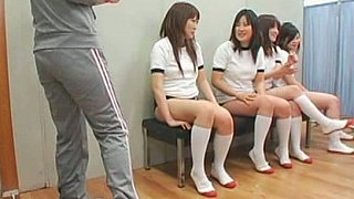 Facial cumshots on asian schoolgirls image