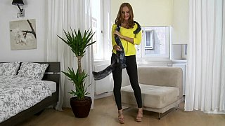 Slender babe came to us from Russia image