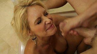 I cum on my friend's mom's big tits ‣ hardcord image