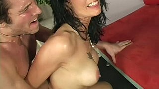 Seduced and fucked by her step-son image
