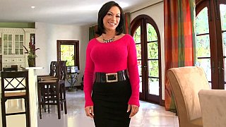 Busty mature Milf Charlie Anne image