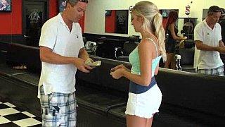 Hello blondie... wanna make extra money? image