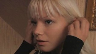Cute blonde Swedish teen and her boyfriend image