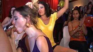 Horny girls loose moral behavior image