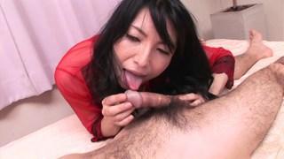Japanese MILF uncensored image