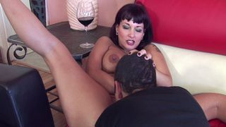 Image: Pierced MILF Carrie lets him cum in her mouth