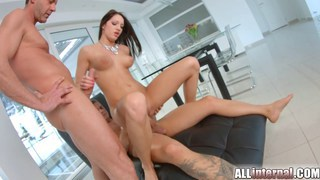 Image: Two creampies for tight young newcomer Felicia