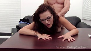 Fun amateur Addyson makes him cum in her mouth image