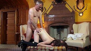 Image: Samantha having anal sex and swallowing cum