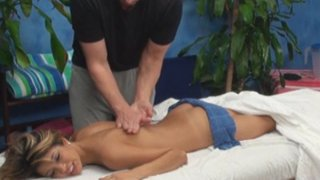 Veronica seduced and fucked by her_massage therapist on hidden_camera image