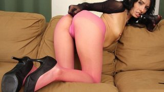 Image: Pantyhose legs covered hot legs Monca masturbation