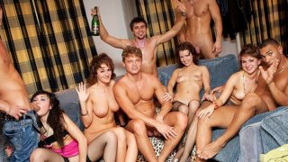 Hard student anal sex at B-day fuck party image