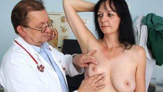Image: Amateur Milf twat checkup by filthy gyn medic