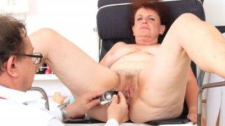 Image: Fuck Hole examination plus a basty grandmother