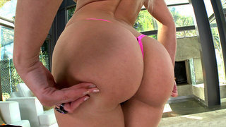 Anikka Albrite gets her perfect ass worshipped image