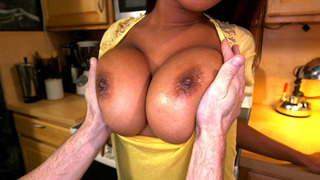 Sierra Santos lets_him play_with her big natural tits image