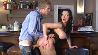 Image: Aletta Ocean took his fat dick balls deep in her tight pussy