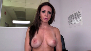 Kylie Rogue teases as she shows her perfectly shaped tits image