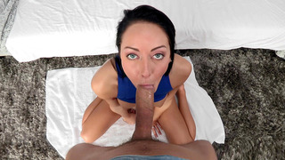 Sabrina Banks sucked that cock like a champ in POV image