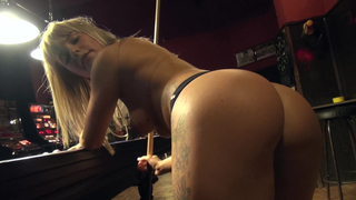 Hot booty on the Pool Table image