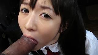 Innocent asian girl meet new family image