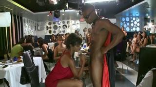 Bachelorette blowjob party! image
