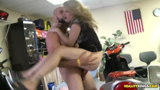 Image: Stella gets fucked at the scooter store