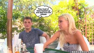 Image: Blonde girl Kacey Jordan is a sexy pornstar