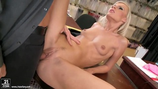 Bea Stiel feels big cock in mouth and vagina image