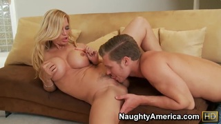 Image: Michael Vegas woke up by his best friend hot and sexy blonde mother