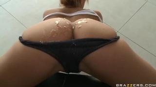 Milf with big ass Shyla Stylez gets dildo into the anus image
