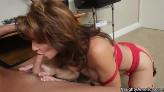 Deauxma and her young lover  Kris Slater image