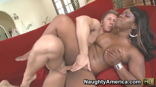 Big girl Samone Taylor is fucked right in_the ass image