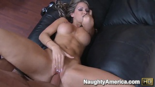 Buxom blonde ex wife, Courtney Cummz, can not forget_ex husband's dick in her hole image