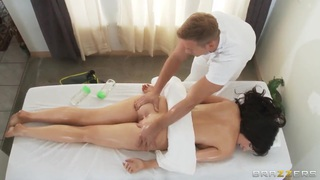 Diana Prince enjoys a sensual full body massage image