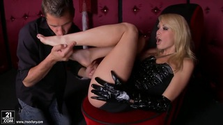 Image: Hot blondie Monique Alexander fucked by a younger guy