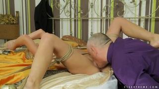 Image: Beautiful Chary Kiss is fucking her amazing man