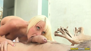 Manuel Ferrara and Rikki Six having hot sex in the_swimming pool image