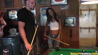 Man seduces Jasmine Rios to have nice sex image