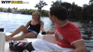 Public and very hot sex on a boat with a_hottie image