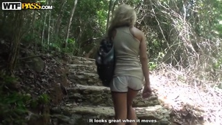 Thailand porn adventures and amateur fuck on a motorbike image