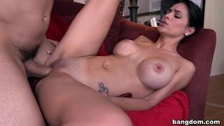 Big tit Latina maid gets fucked image