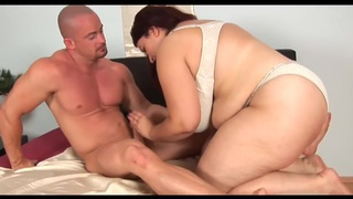 Unforgettable Redhead-BBW-Milf with_Huge-Boobs fucked image